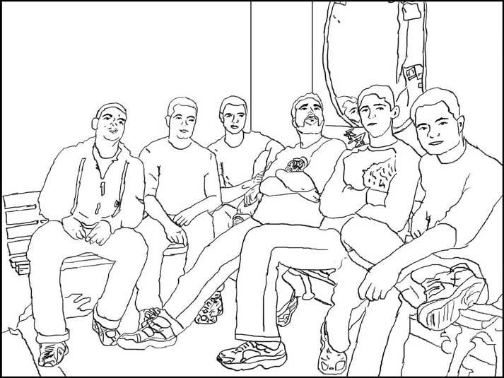 Desenho Banda Profusão Sonora